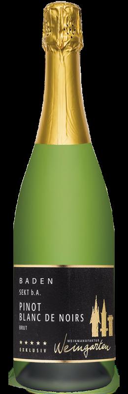 Weinmanufaktur Weingarten Pinot – Blanc de Noirs Baden Sekt b. A. brut