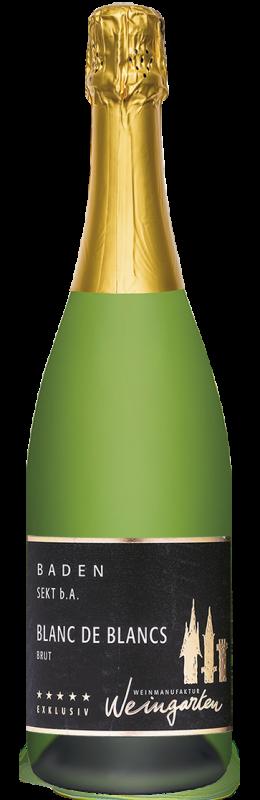 Weinmanufaktur Weingarten Blanc de Blancs Sekt b. A. brut