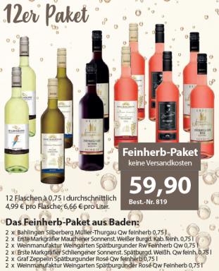 Feinherb-Paket