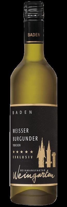 Weinmanufaktur Weingarten Weißer Burgunder Exklusiv Baden Qw trocken