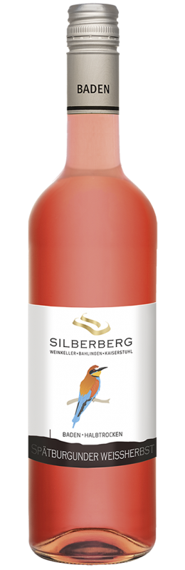Bahlinger Silberberg Spätburgunder Weißherbst Qw Baden halbtrocken
