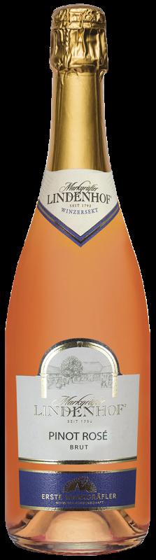 Lindenhof Pinot Rosé Sekt b. A. Baden brut Magnum