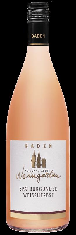 Weinmanufaktur Weingarten Spätburgunder Weißherbst Qw Baden halbtrocken