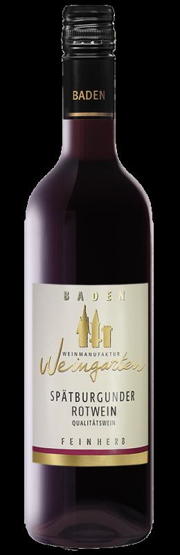 Weinmanufaktur Weingarten Spätburgunder Rw Feinherb Qw Baden