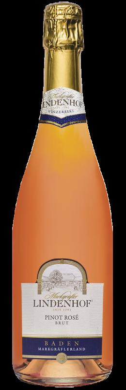 Lindenhof Pinot Rosé Sekt b. A. Baden brut