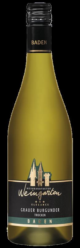 Weinmanufaktur Weingarten Grauer Burgunder Elegance Qw Baden trocken