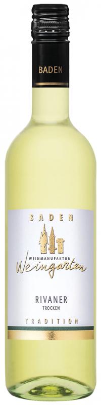 Weinmanufaktur Weingarten Rivaner Qw Baden trocken