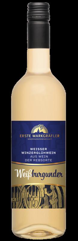 Weißer Winzerglühwein Weißburgunder Premium Glühwein Baden