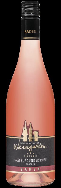 Weinmanufaktur Weingarten Spätburgunder Rosé Elegance Qw Baden trocken
